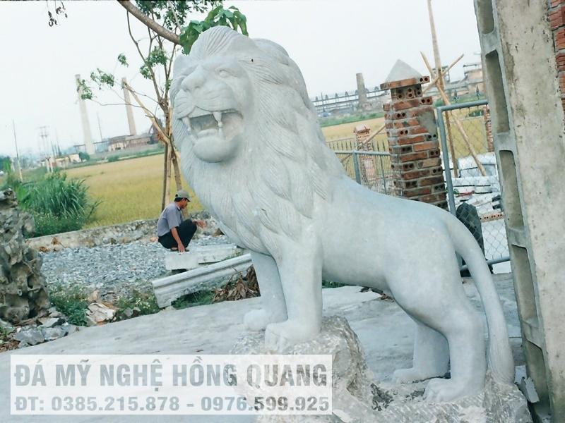 Bán sư tử đá đẹp