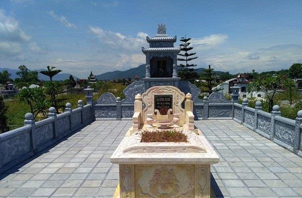 Lăng mộ đá đẹp Hồng Quang
