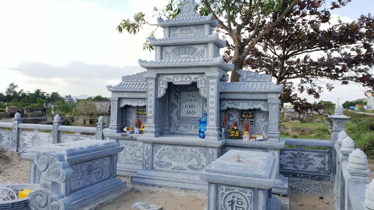 Lăng thờ đá Vũ Tộc Yên Mô Ninh Bình