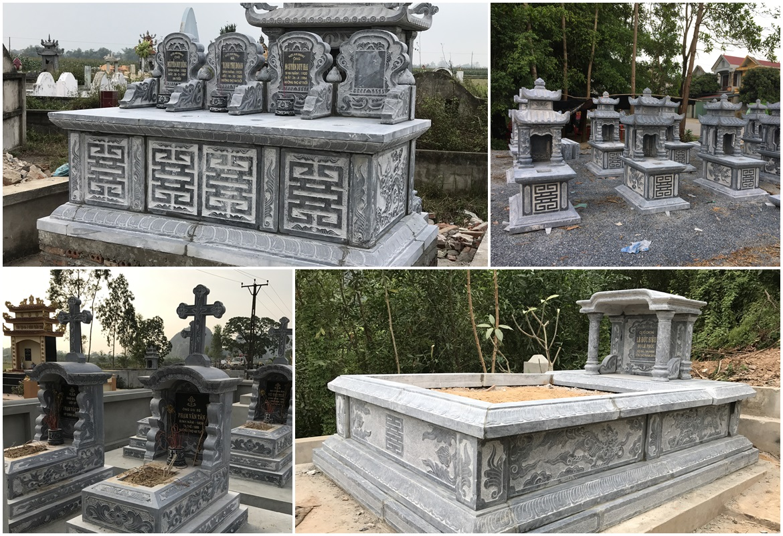 Mộ đá Hồng Quang, Những mẫu Mộ đá Hồng Quang phổ biến năm 2019