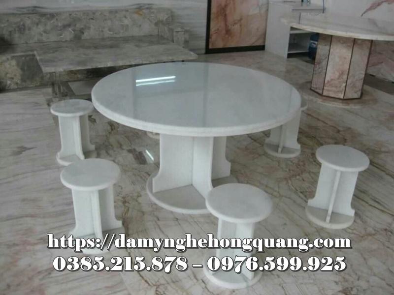 Mẫu bàn ghế đá sân vườn đẹp-5