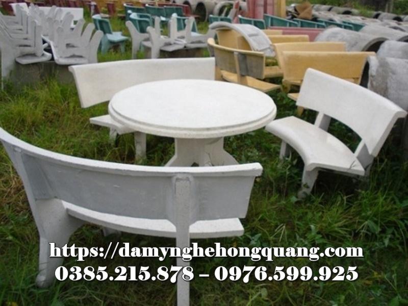 Mẫu bàn ghế đá sân vườn đẹp-17